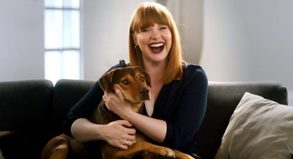 Shelby who plays Bella with Bryce Dallas Howard