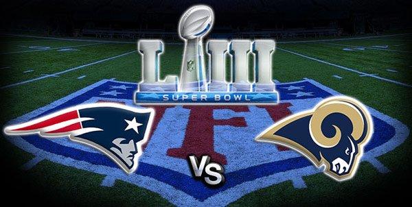 New England Patriots VS. Los Angeles Rams