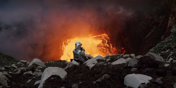 Volcanoes are majestic and scary