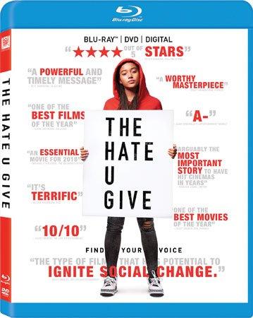 The Hate U Give Blu-ray Cover