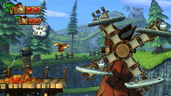 Retro Studios is also known for the last couple of Donkey Kong Country titles.