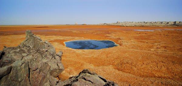 Dallol Ethiopia Blue Lake