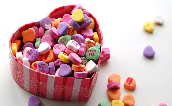 Sweethearts are a delicious gift for Valentine's Day