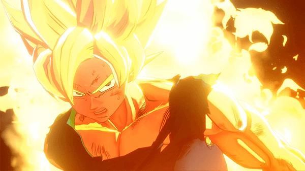 Goku becomes Super Saiyan in the new RPG.