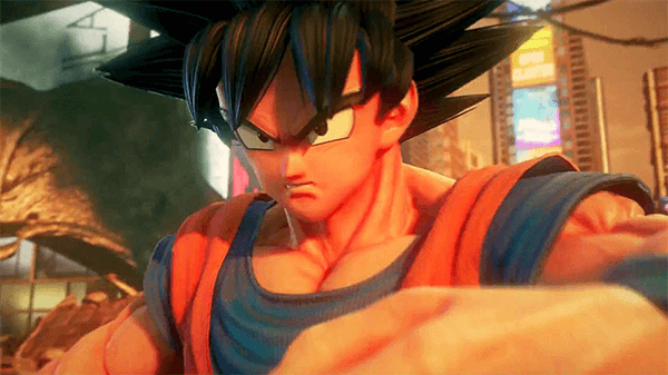 Goku in Jump Force.