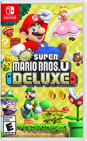 New Super Mario Bros. U Deluxe Box Art