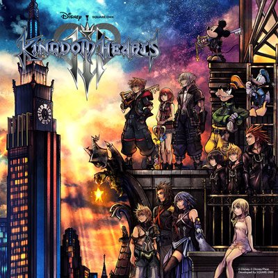 Kingdom Hearts 3 is available now