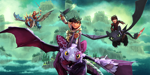 DreamWorks Dragons Dawn of New Riders is Out Now!