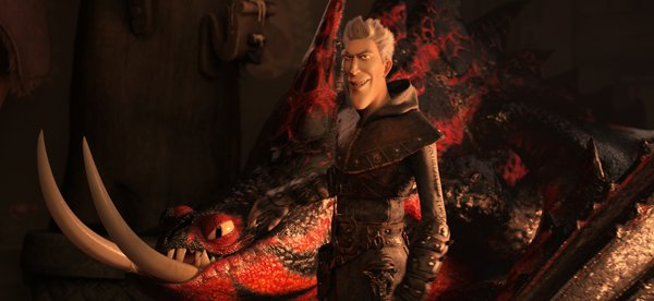 Grimmel with his drugged dragon