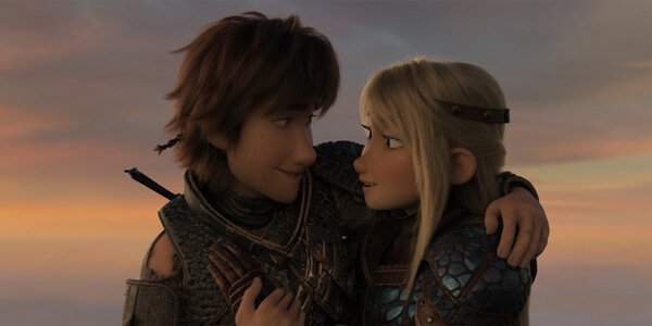 Hiccup and Astrid make a great couple