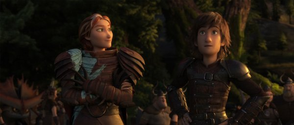 Hiccup's mom Valka advises him