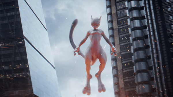Mewtwo makes an appearance at the end of the trailer.