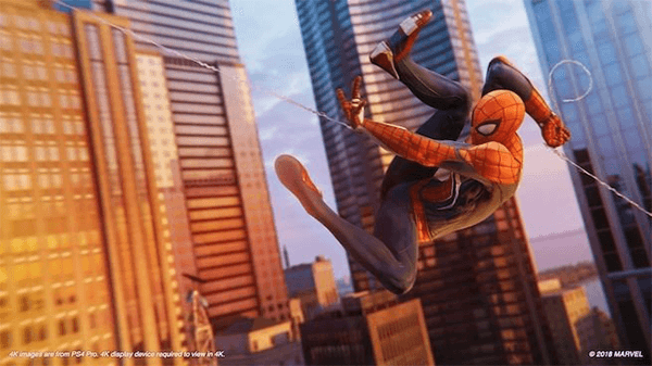 Spider-Man is a standout PlayStation 4 exclusive.