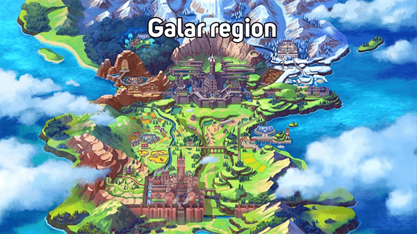 Both games will take place in the all-new Galar region.