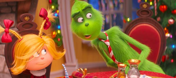Cindy-Lou Who helps liberate the Grinch from his grumpiness