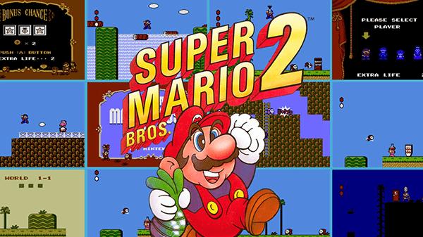 Super Mario Bros. 2 is one of the most bizzare Mario games.
