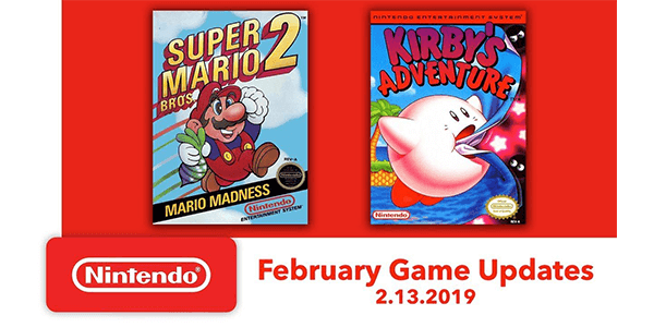 Super Mario Bros. 2 and Kirby's Adventure Come to Nintendo Switch