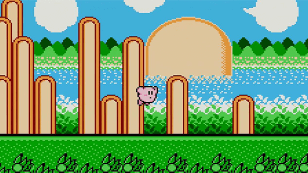 Despite being on an old console like the NES, Kirby's Adventure looks awesome.