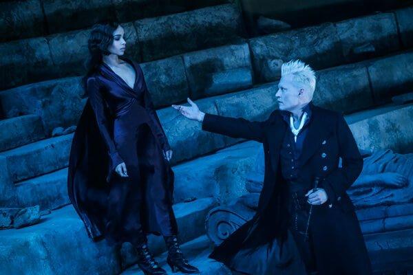 Lita Lestrange is tempted by Grindelwald