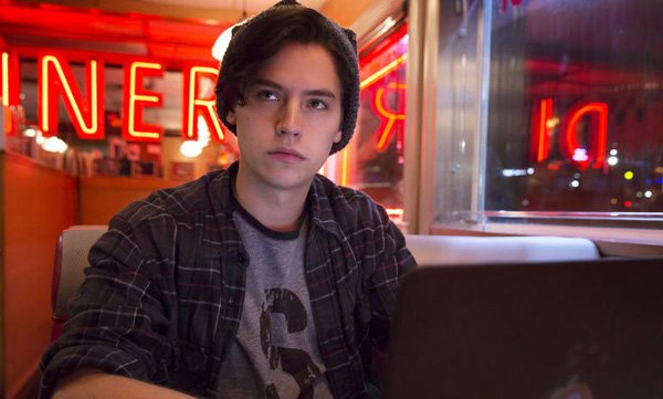 Cole as Jughead in Riverdale