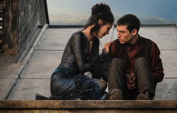 Credence and Nagini share a tender moment