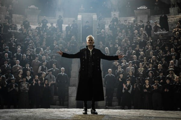 Grindelwald at his rally