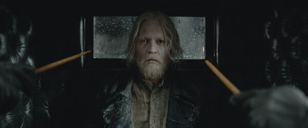 Grindelwald about to escape!