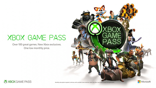 Xbox Game Pass gets you access to the whole package on Xbox.