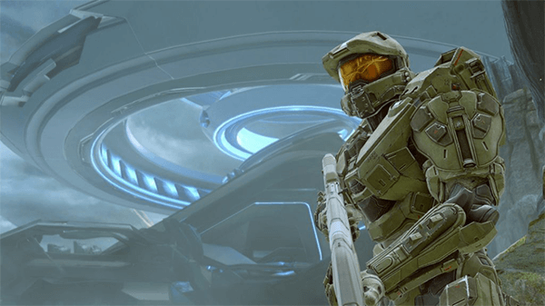 Despite being added to the Master Chief Collection, The Master Chief isn't in Halo: Reach.