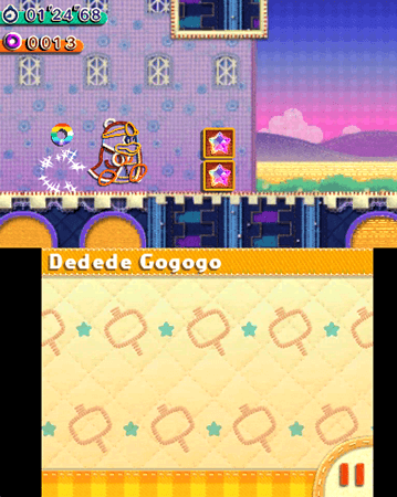 Dedede Gogogo is a fun but forgettable minigame.