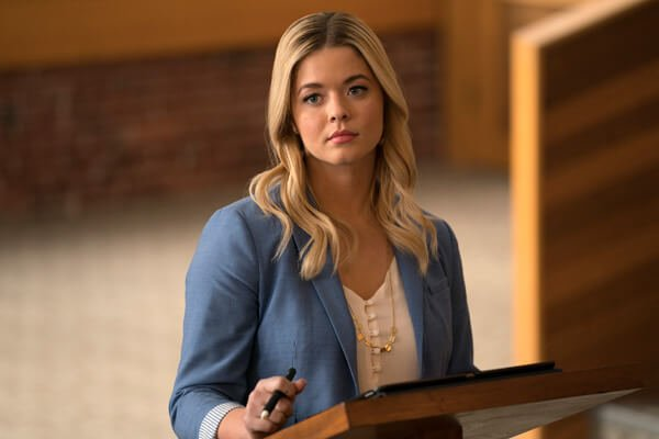 Sasha as Alison in class