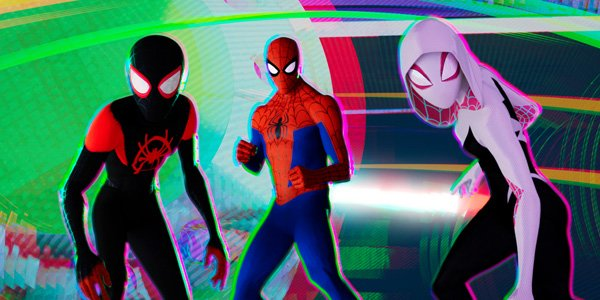 Feature spider man into the spider verse blu ray feat