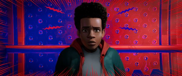 The Spider-Verse is colorful and mind-blowing