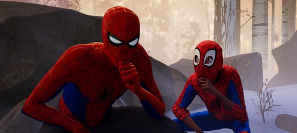 Miles hopes to learn Spidey skills from Peter
