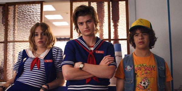 Robin, Steve and Dustin