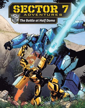 Bumblebee comic book cover