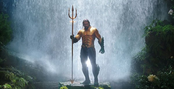 Aquaman all suited up