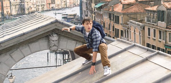 Peter Parker in Venice, Italy