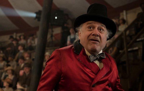 Ringmaster Medici (Danny) can't believe Dumbo flies