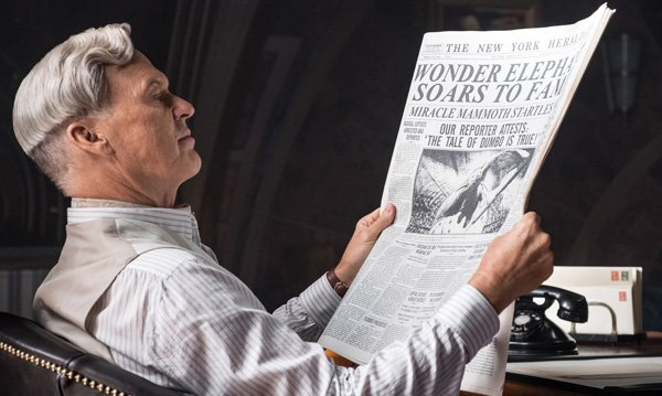 Michael Keaton plays baddie Vandevere