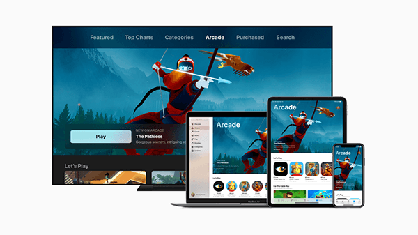 Though Apple TV  will be on non-Apple devices, it seems like Apple Arcade will stay on iOS.