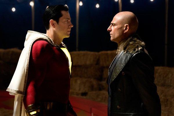Sivana demands that Shazam turn over his powers
