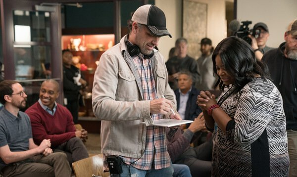 Director Sean Anders with Octavia Spencer