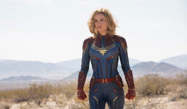 Brie as Captain Marvel