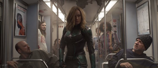 Vers searches for a Skrull on the train