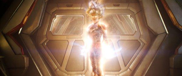 Captain Marvel achieves her full power