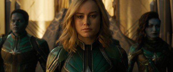 Brie Larson as Vers in the Kree Starforce