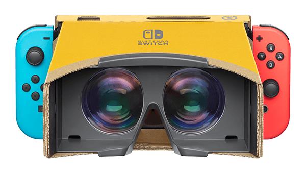 Nintendo Labo's Toy-Con VR Goggles.