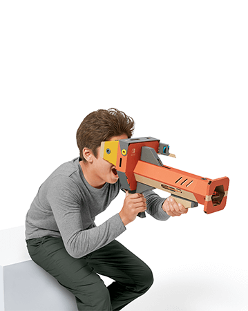 The Toy-Con Blaster.
