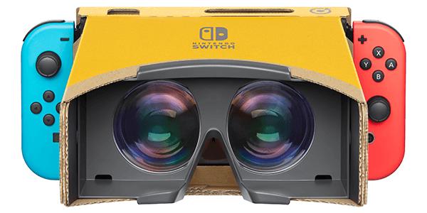 Virtual Reality Comes to Nintendo Labo